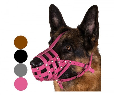 dog-muzzle-leather-basket-medium-large-breeds
