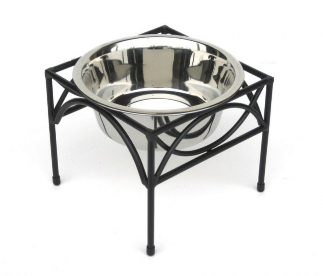 regal-single-bowl-raised-feeder-12in-tall-with-rubber-ring-to-eliminate-noise